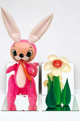 'Inflatable Flower and Bunny' , 1979