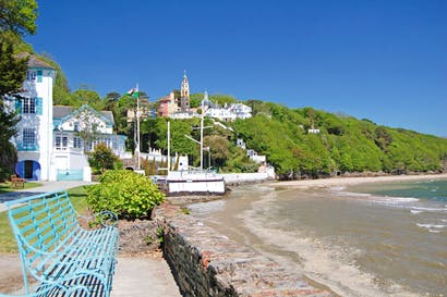 'A home for fallen buildings': Portmeirion