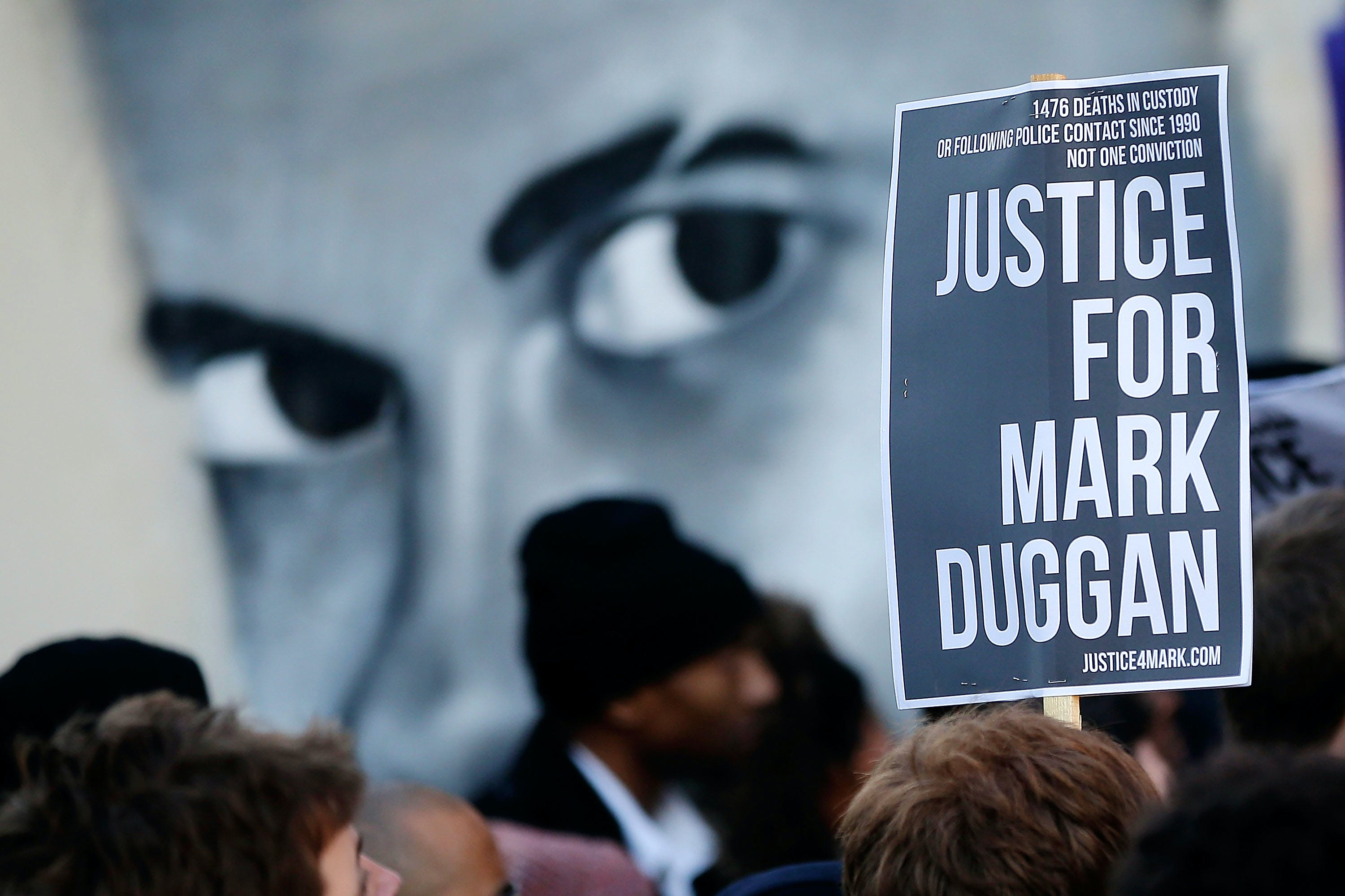 Mark Duggan Vigil In Tottenham After Inquest Result