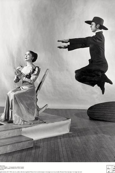 Martha Graham and Bertram Ross in Graham's most famous work 'Appalachian Spring' (1944), with a prize-winning score by Aaron Copeland