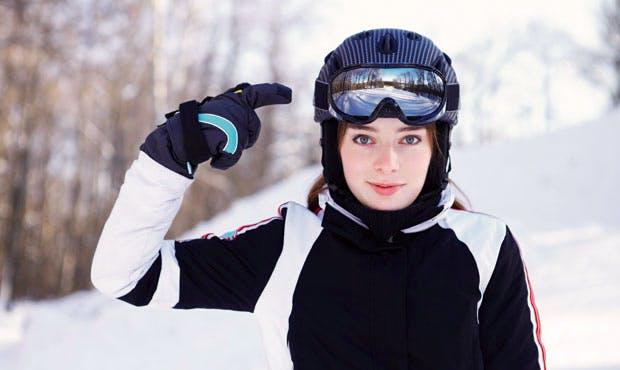 Ski helmets: everyone's doing it now