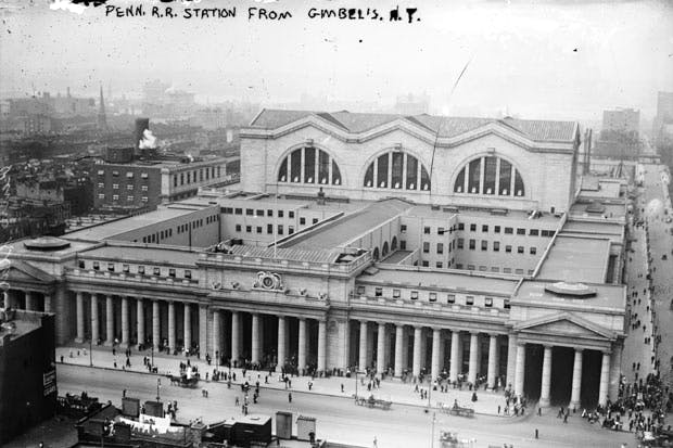 One of the greatest acts of cultural vandalism was the demolition of the magnificent Penn Station in 1962