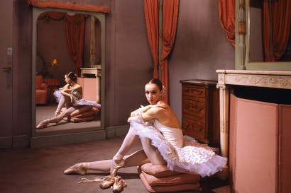 'This era's supreme objet d'art': Sylvie Guillem in 1985, aged 19, in her Paris Opera dressing-room