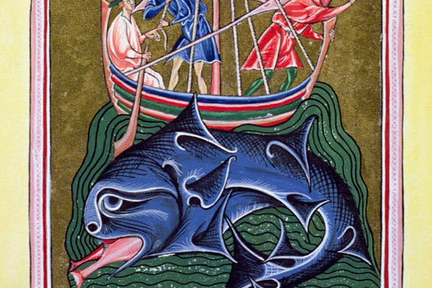 'The Whale' (12th-century English Bestiary)