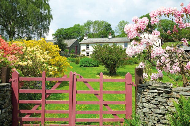 Castle Cottage in Near Sawrey, Cumbria, where Beatrix Potter lived after her marriage to William Heelis