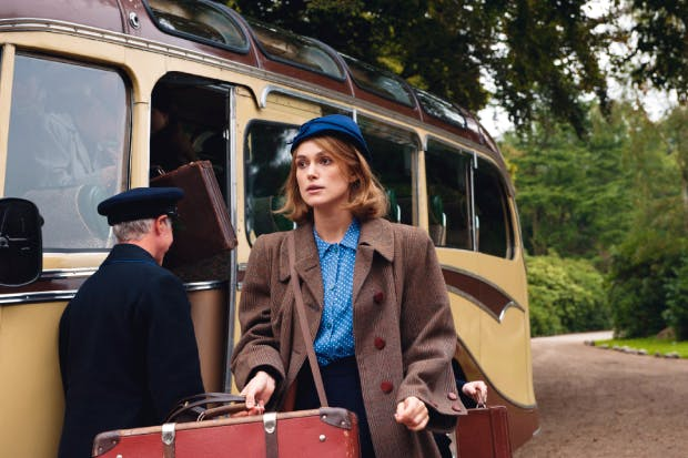Railly, railly posh: Keira Knightley as Joan Clarke
