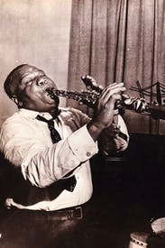 Sidney Bechet in 1939
