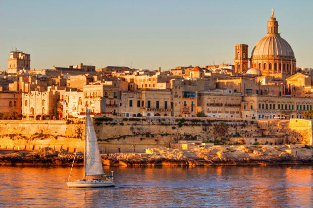 A port and a fort: Valletta