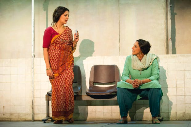 Poverty ogling: Stephanie Street and Meera Syal in 'Behind the Beautiful Forevers'