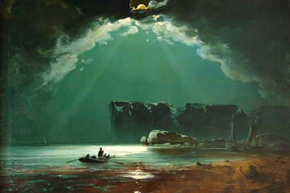 'North Cape', probably 1840s, by Peder Balke
