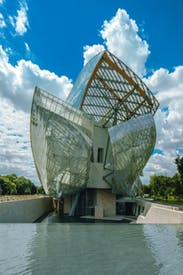 Outsize origami: Gehry's Fondation Louis Vuitton