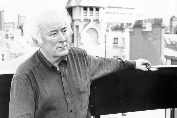 Seamus Heaney in 1996