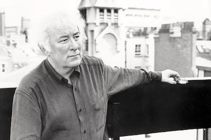 Seamus Heaney in 1996