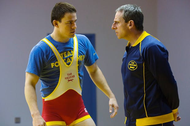 Channing Tatum and Steve Carell