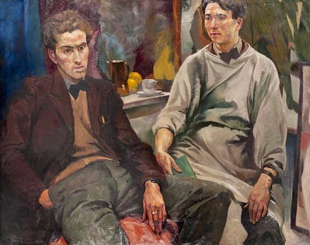 The Painters McBryde [sic]and Colquhoun, Ian Fleming