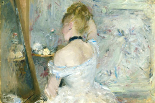'Woman at Her Toilette', 1875/80, by Berthe Morisot