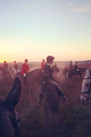 Beauty and exhilaration: hunting in Norfolk