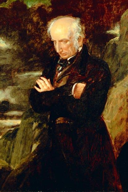 Benjamin Robert Haydon's portrait of William Wordsworth