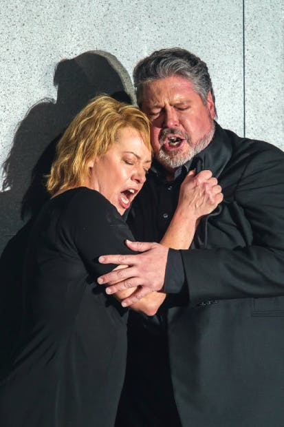 Magnificent: Nina Stemme as Isolde and Stephen Gould as Tristan
