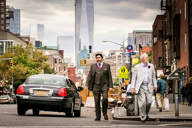 A humdinger of a plus: Alfred Molina and John Lithgow in 'Love Is Strange'