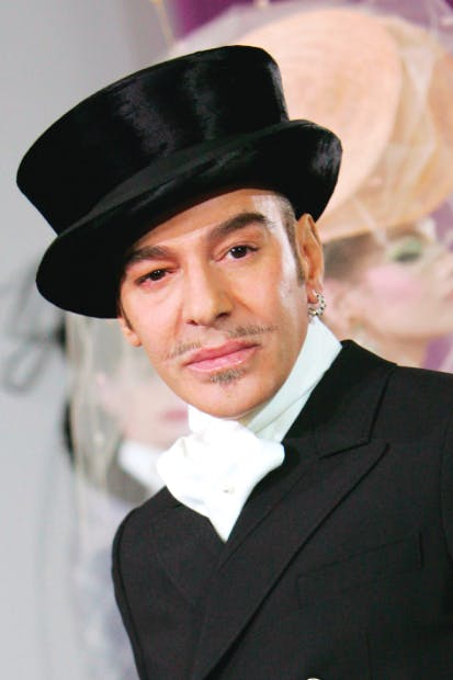 John Galliano at Paris Fashion Week 2010