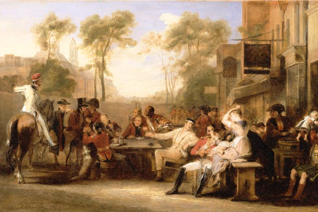 'Chelsea pensioners reading the Waterloo Dispatch' by Sir David Wilkie