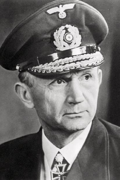 Admiral Dönitz, left in charge of the Reich after Hitler's suicide, was lucky to have escaped the noose at Nuremberg
