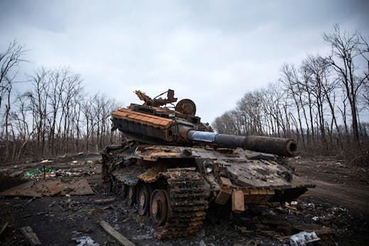 Conflict In Eastern Ukraine Takes Its Toll On Donetsk Region