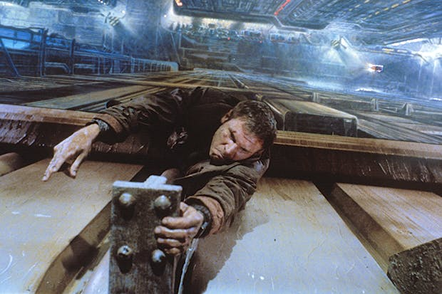 Staying power: Harrison Ford as Rick Deckard in 'Blade Runner: The Final Cut'