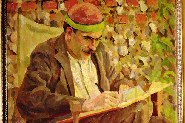Although Keynes hated his appearance, he was much painted by the Bloomsbury Group, including by Roger Fry (above)