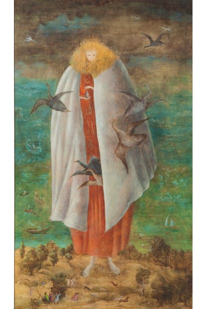 'The Giantess' by Leonora Carrington, currently on show at Tate Liverpool
