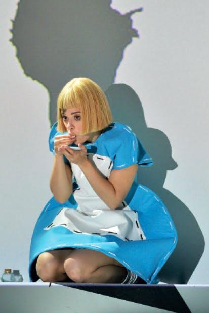 Identity crisis: Rachele Gilmore as Alice