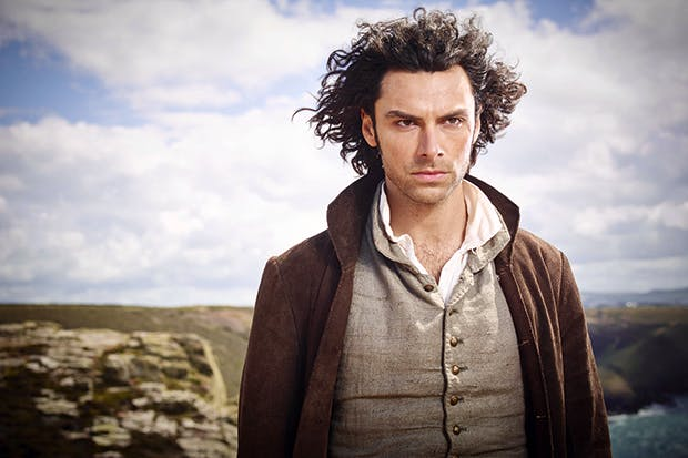 Should he stay or should he go: Aidan Turner as Ross Poldark