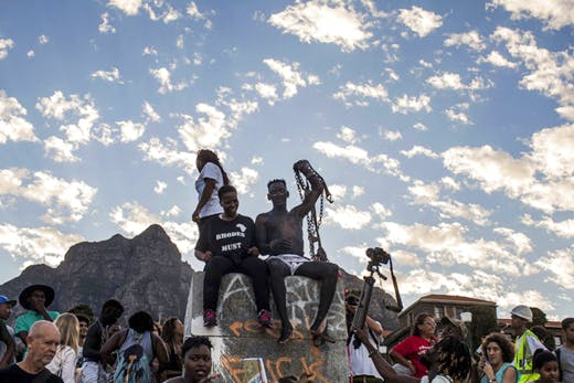 South Africa's University of Cape Town Removes Statue of Cecil Rhodes