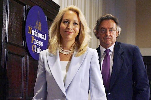 Valerie Plame And Joseph Wilson Hold Press Conference On Lawsuit