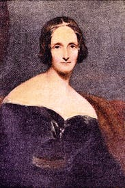 Mary Shelley by Richard Rothwell