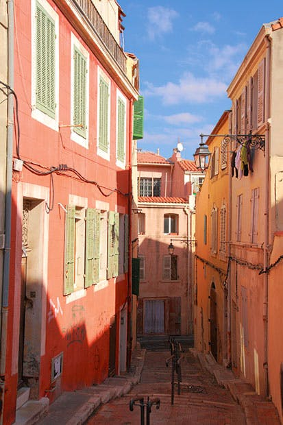 A beautiful maze: Marseille's Old Town
