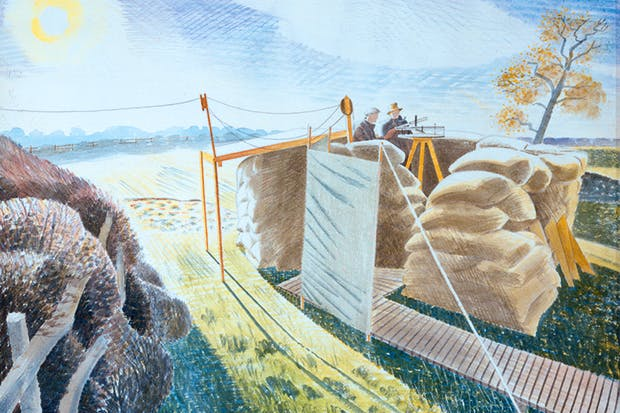 'Observer's Post', 1939, by Eric Ravilious