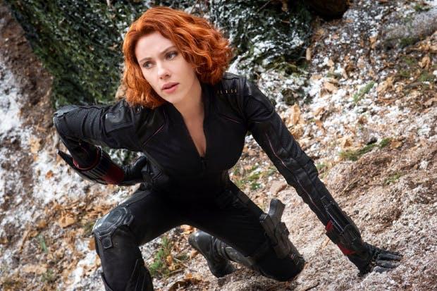 Back to black: Scarlett Johansson as Black Widow