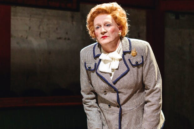 Find the voice, find the character: Steve Nallon as Margaret Thatcher