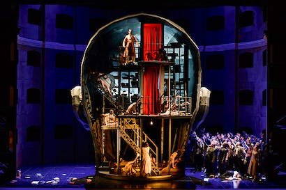 Inside Apollo's head: designer Steffen Aarfing following Szymanowski's stage instructions