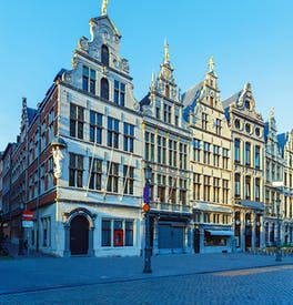 Guild houses in the Grote Markt, Antwerp