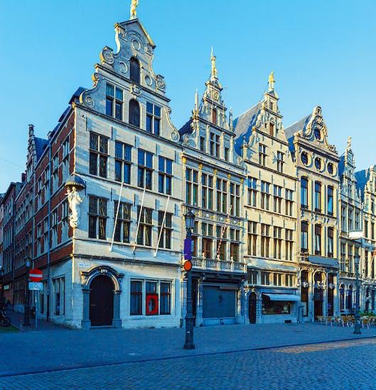 Guild houses in the Grote Markt, Antwerp