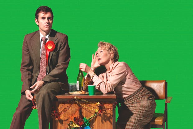 A clear-eyed account of socialism: Paul Higgins and Stella Gonet in 'Hope' at the Royal Court