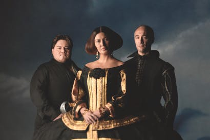 Diego Torre as Don Carlos, Milijana Nikolic as Princess Eboli, José Carbó as Rodrego, Count of Posa