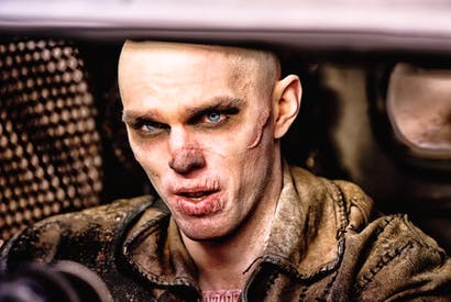 Seeking a berth in Valhalla: Nicholas Hoult as Nux in 'Mad Max: Fury Road'