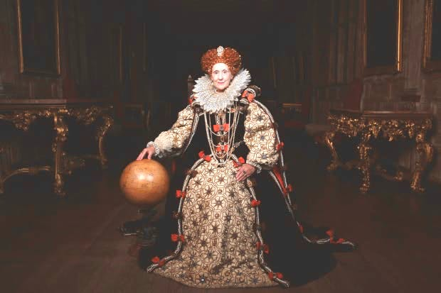 Anita Dobson as Queen Elizabeth I in 'Armada: 12 Days to Save England'