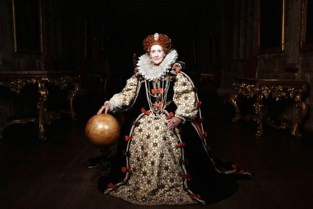 Anita Dobson as Queen Elizabeth I in 'Armada: 12 Days to Save England'