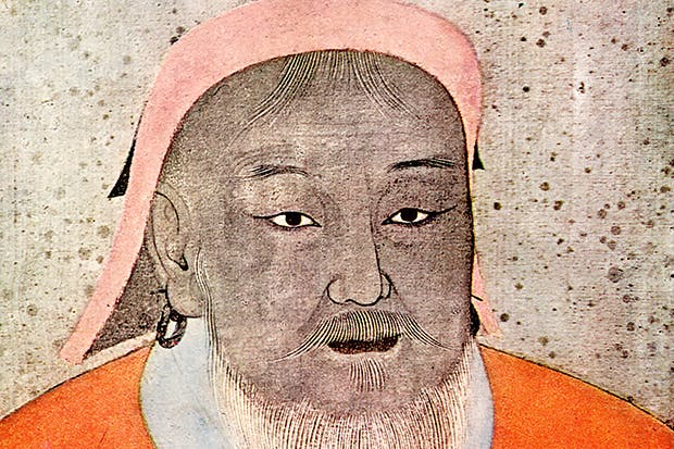 Portrait generally thought to be of Ghenghis Khan
