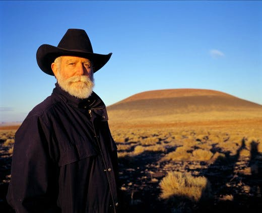 Turrell at Roden Crater